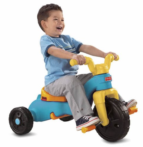 Fisher-Price Rock, Roll 'n Ride Trike (Tricycle Plastic)
