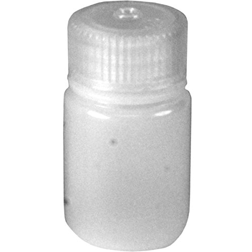 Nalgene HDPE Wide Mouth Round Container, 1 Oz (Nalgene Travel Container)