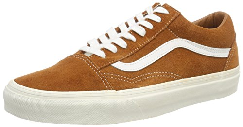 Chaussures Multicolore Vans Old Skool Mixte glazed marron blanc Adulte Ginger EnEXqRxS7