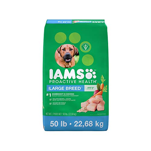 An Item of Iams Adult ProActive Health Large Breed Chicken Dry Dog Food (50 lbs.) - Pack of 1 ()