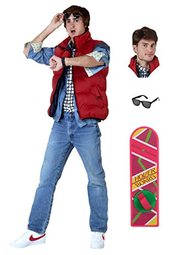 [Fun Costumes Mens Back to the Future Marty Mcfly Costume Package] (Marty Mcfly Costumes)