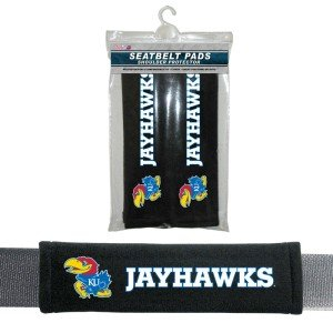 - Fremont Die NCAA Kansas Jayhawks Velour Seat Belt Pads, One Size, Multi