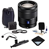 Sony Vario-Tessar T 16-70mm F4 ZA OSS, E-Mount Camera Lens. Value Kit w/Acc