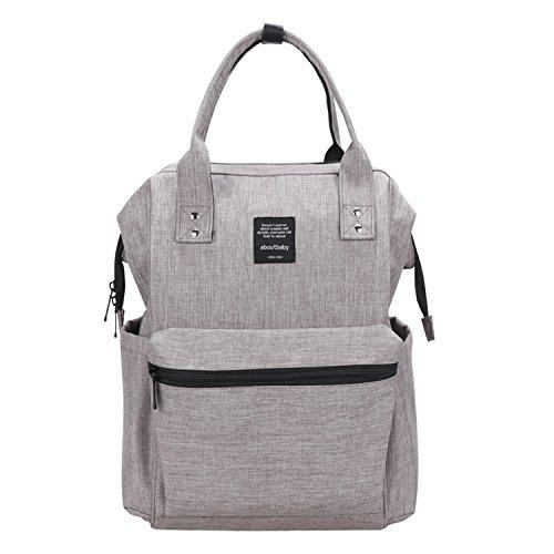 BigForest Multifunction Baby Diaper Nappy Changing Bag Mummy Backpack Travel Bag Tote Handbag