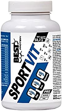 Best protein SportVit - 100 caps.: Amazon.es: Salud y cuidado ...
