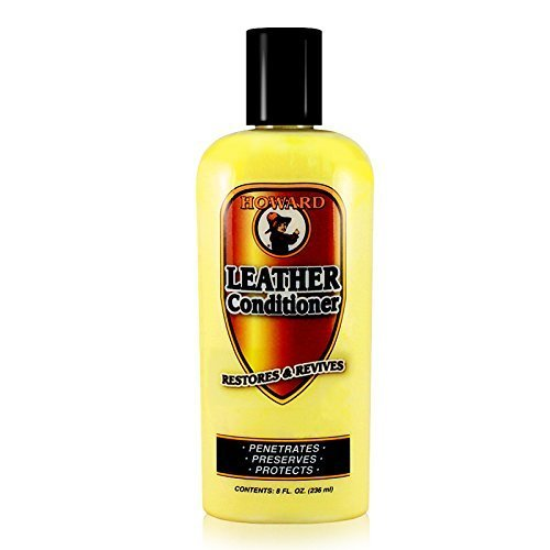 Howard LC0008 Leather Conditioner, 8-Ounce (2-pack) ()