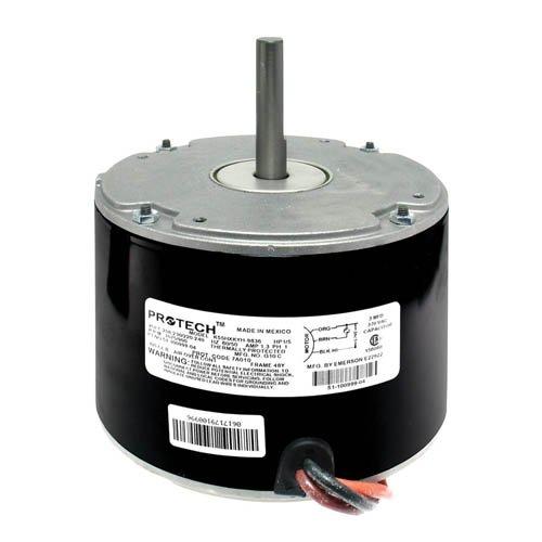 OEM Upgraded Rheem Condenser Fan Motor 1//5 HP 208-230 Volts 1075 RPM 51-21854-06