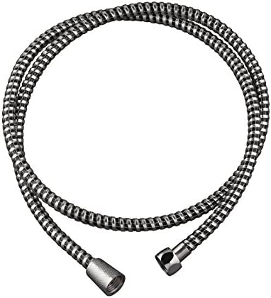 Wirquin 60720417 Touch PVC Shower Hose 1.5 m Chrome