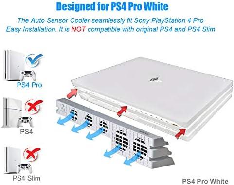 PeakLead PS4 Pro Ventilador de refrigeración el Color Blanco ...