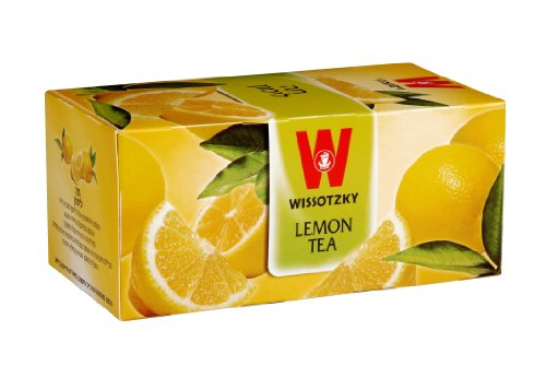 Wissotzky Lemon, 1.76-Ounce Boxes (Pack of 6)