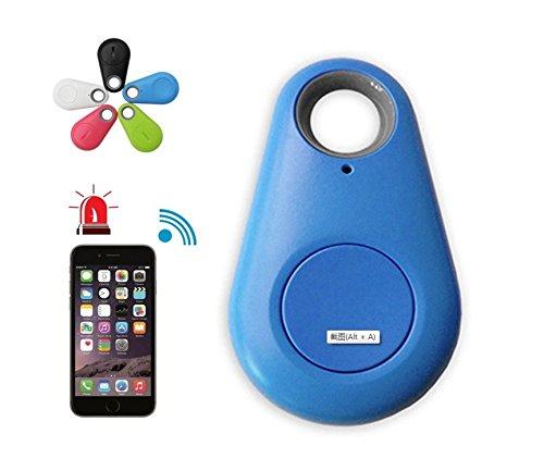 2pcs Smart Finder Bluetooth Locator Pet Tracker Alarm Wireless Anti lost Sensor Remote Selfie Shutter Seeker for Kids Bag Wallet Keys Car SmartPhone[Random color]