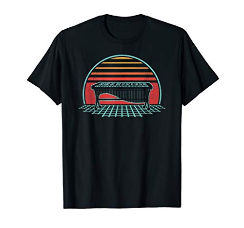 Marimba Retro Vintage 80s Style Player Musician Gift T-Shirt