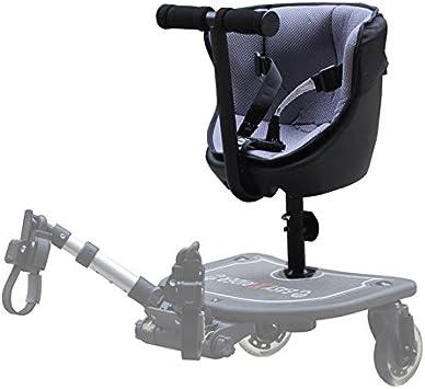 Easy X Rider - Asiento para patinete caer25-1108 para coche de paseo negro: Amazon.es: Bebé