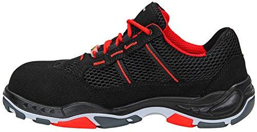 Calzado Protección Rojo Elten De Negro Para Blanco Hombre pqFxdwA
