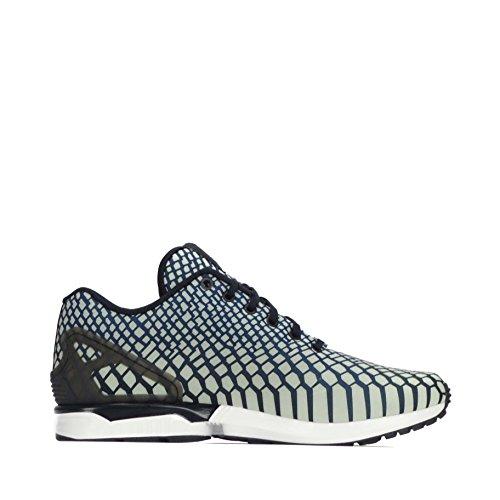 Adidas Originali Zx Flux Xeno Mens Scarpe Da Ginnastica Da Corsa Scarpe Da Ginnastica Blu Navy Bianco Aq4534