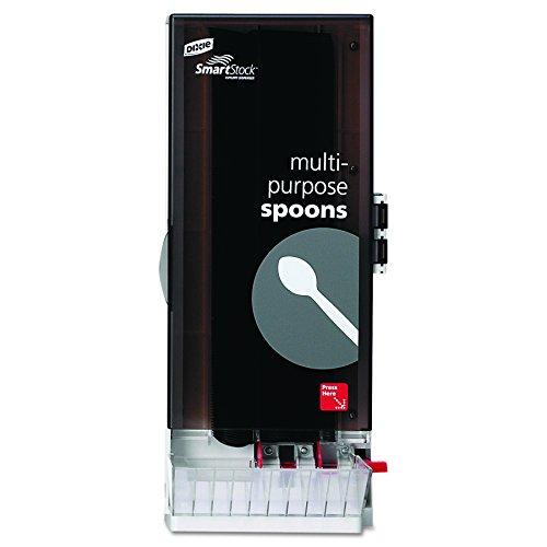 Dixie SSSD120 SmartStock Utensil Dispenser, Spoon, 10