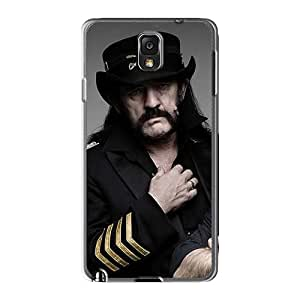 Shock Absorbent Hard Cell-phone Case For Samsung Galaxy Note3 With Support Your Personal Customized Colorful Motorhead Band Pattern NataliaKrause