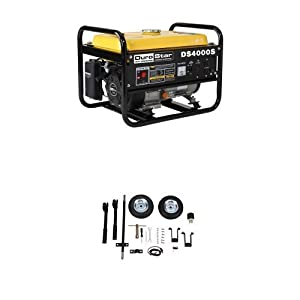 DuroStar DS4000S, 3300 Running Watts/4000 Starting Watts, Gas Powered Portable Generator from DuroStar