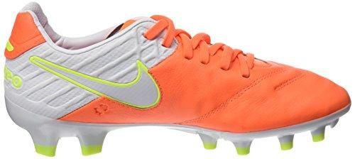 De Orange Pink Tiempo 38 tart Nike Fg volt Femme Football Chaussures white Eu Legacy hyper Ii 6nxUOx