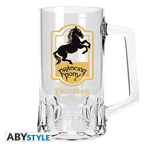 (LORD OF THE RINGS Tankard Prancing Pony)