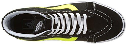 Reissue Ginnastica Sk8 Black Scarpe Vans da UA Hi Neon Neon Uomo Nero Yellow Alte Leather xRqwx5Yt
