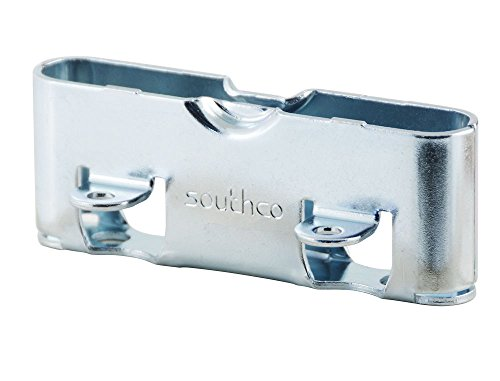 Latch Concealed - Southco R2-0257-02 Zinc Plated Steel Draw Latch Receptacle, Concealed