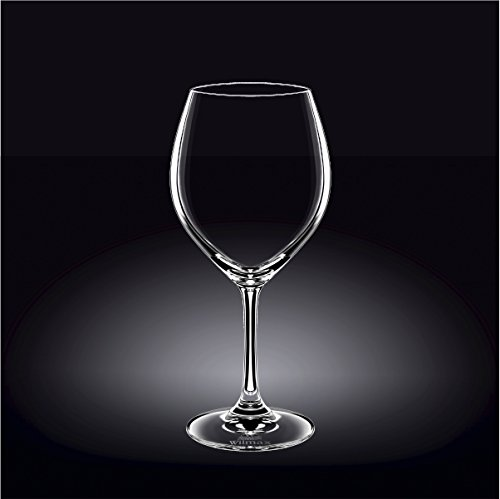 Wilmax 888011 620 ml Wine Glass Set of 644; Pack of 4 by Wilmax