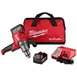 Milwaukee 281022 M18 Fuel Mud Mixer With 180 Degree Handle Kit
