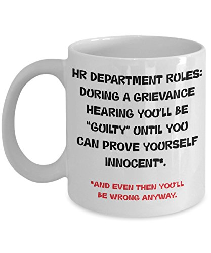 HR Director Coffee Mug - Funny HR Manager Cup - Gag Humor HR Recruiter Gift - Funny HR Gifts and Accessories