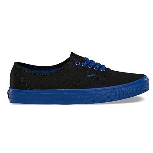 Vans-Authentic-Pop-Outsole-Fashion-Sneakers-BlackTrue-Blue-Size
