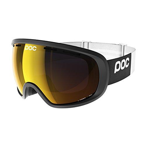 POC Fovea Skiing Goggles, One Size, Uranium Black Frame, Black - Uk Goggles Poc