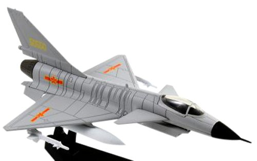 Chengdu J-10 Vigorous Dragon 1/100 Scale Diecast Metal Model - Eagle Diecast Model