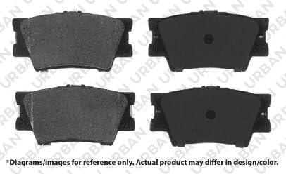 5lug SHIPS FROM USA!!-Tax Incl. -Combo Brake Kit- RAV4 4 OEM Replacement Extra-Life Heavy Duty Brake Rotors 8 Ceramic Pads F+R Full Kit