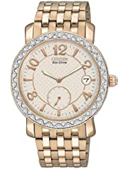 Citizen Womens EV1013-56A Drive from Citizen Eco-Drive BRZ Swarovski Crystal Accented Watch