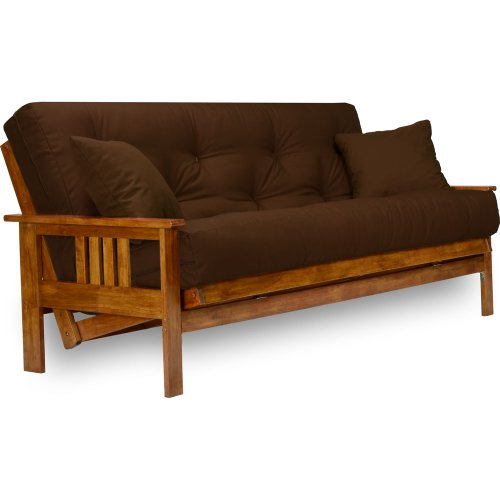 Queen Futon Set (Stanford Futon Set - Queen Size, Frame, 8