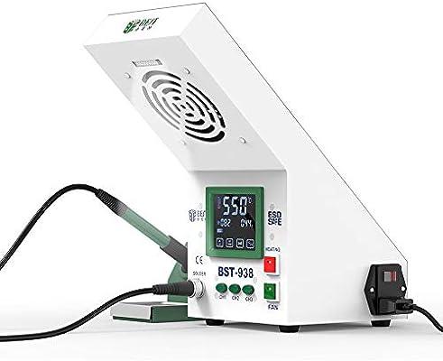 Four Kit de Soldador de Aluminio 60W reparación de Aire Caliente automática estación de Soldadura de Aire Caliente para Smartphones, Tablets, ...