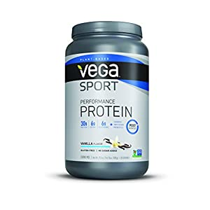 Vega Sport Protein Powder, Vanilla, 1.83 lb, 20 Servings