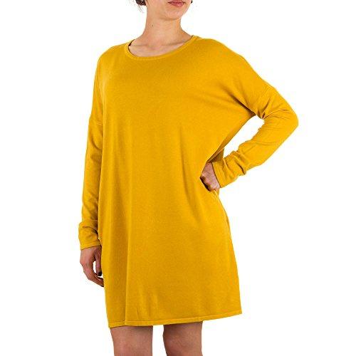Ital-Design - Vestido - para mujer marrón claro