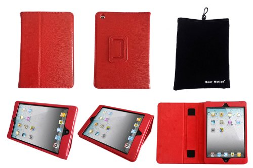 Bear Motion Leather Folio Case for iPad Mini 7.85