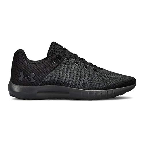 Under Armour Women's Micro G Pursuit Running Shoe, (004)/Black, 9