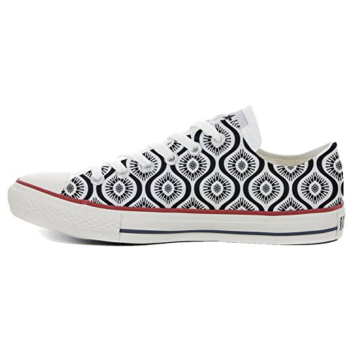 Converse All Star Slim chaussures coutume mixte adulte (produit artisanal) Wave Paisley