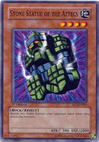 (Yu-Gi-Oh! - Stone Statue of the Aztecs (SD7-EN007) - Structure Deck 7: Invincible Fortress - Unlimited Edition - Common)