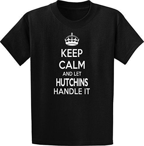 Threads of Doubt Keep Calm and Let Hutchins Handle It! T-Shirt ()