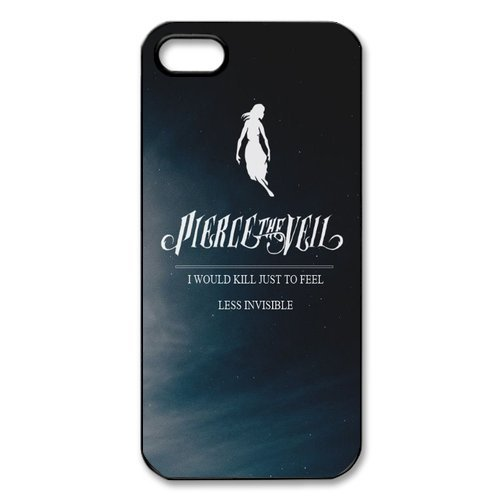 Pierce The Veil, Personalized TPU Snap On Cover For Iphone 5 5s