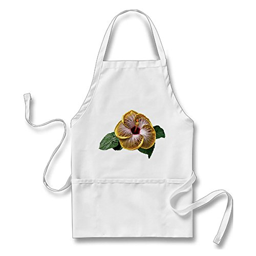 Hibiscus Fifth Dimension Adults' Apron