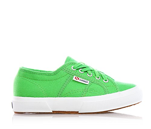 Superga 2750 Jcot Classic, Zapatillas Infantil Verde (Bright Green)