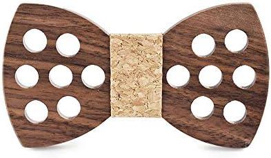 HUANG-WEI-MZ, - Corbata de Madera para Hombre, diseño de Mariposas ...