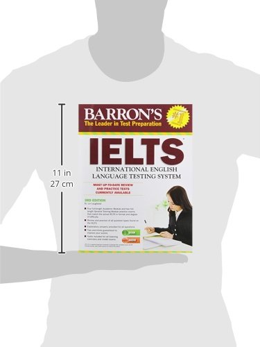 Barron's IELTS with Audio CDs, 3rd Edition - 41qfsVXABML - Getting Down Under