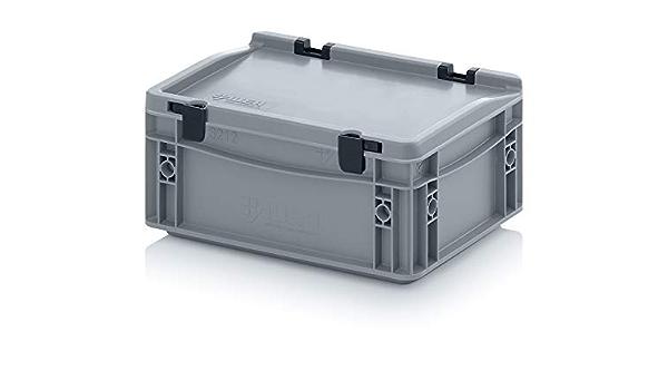 Transporte recipiente con tapa 30 x 20 x 13,5 cm Euro 4,45 litros Caja de transporte: Amazon.es: Hogar