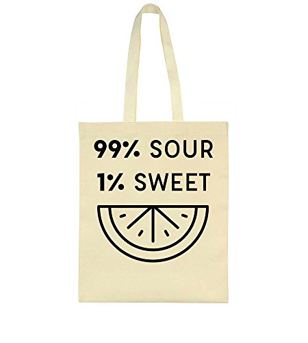99 Tote Design 99 Sour Lemon 1 Bag Sour Sweet gx5q6w